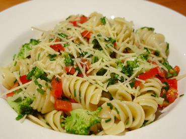 Pasta Primavera – Not Found In Italy