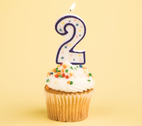 Happy 2nd Blogiversary!