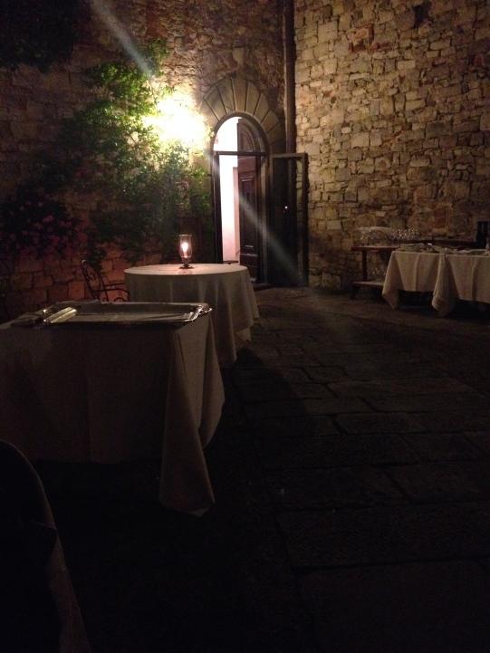 Il Pievano Restaurant - luxury & ambiance in Chianti