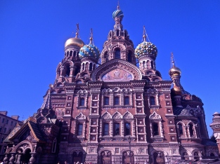 Saviour on the Spilled Blood, St. Petersburg