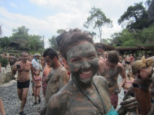 Mud baths in Turkey! Photo credit: Lance Jackson